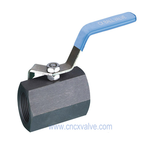 1piece Hexagon Type Ball Valve Threaded
