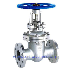 Flanged End Cast Steel Gate Valve