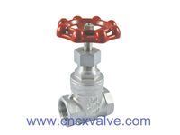 Screwed End Gate Valve