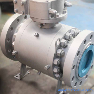 3 Piece Body Forged Trunnion Mounted Ball Valve