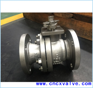 2 PC Flanged End Ball Valve