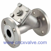 Flanged End Stainless Steel Y-Strainer