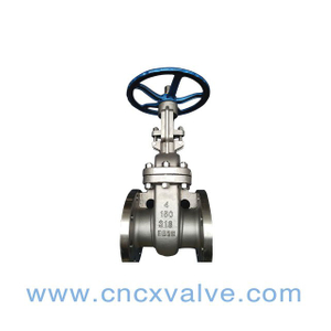 Flanged End Stainless Steel Gate Valve
