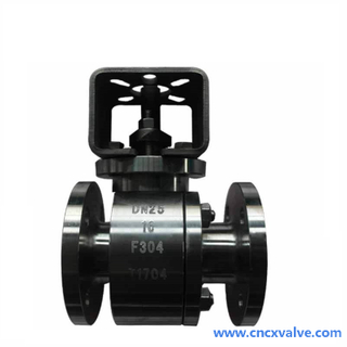 2PC Forged Steel Ball Valve with Platform